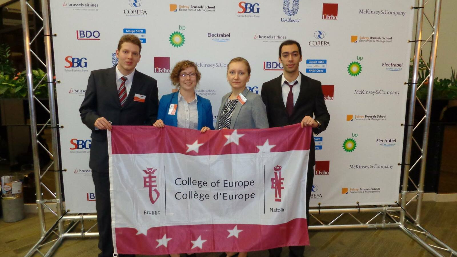 College of Europe Business Club at the Solvay Business Game