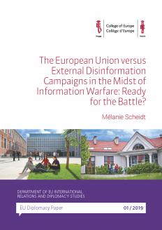 EU Diplomacy Paper 1/2019   College of Europe