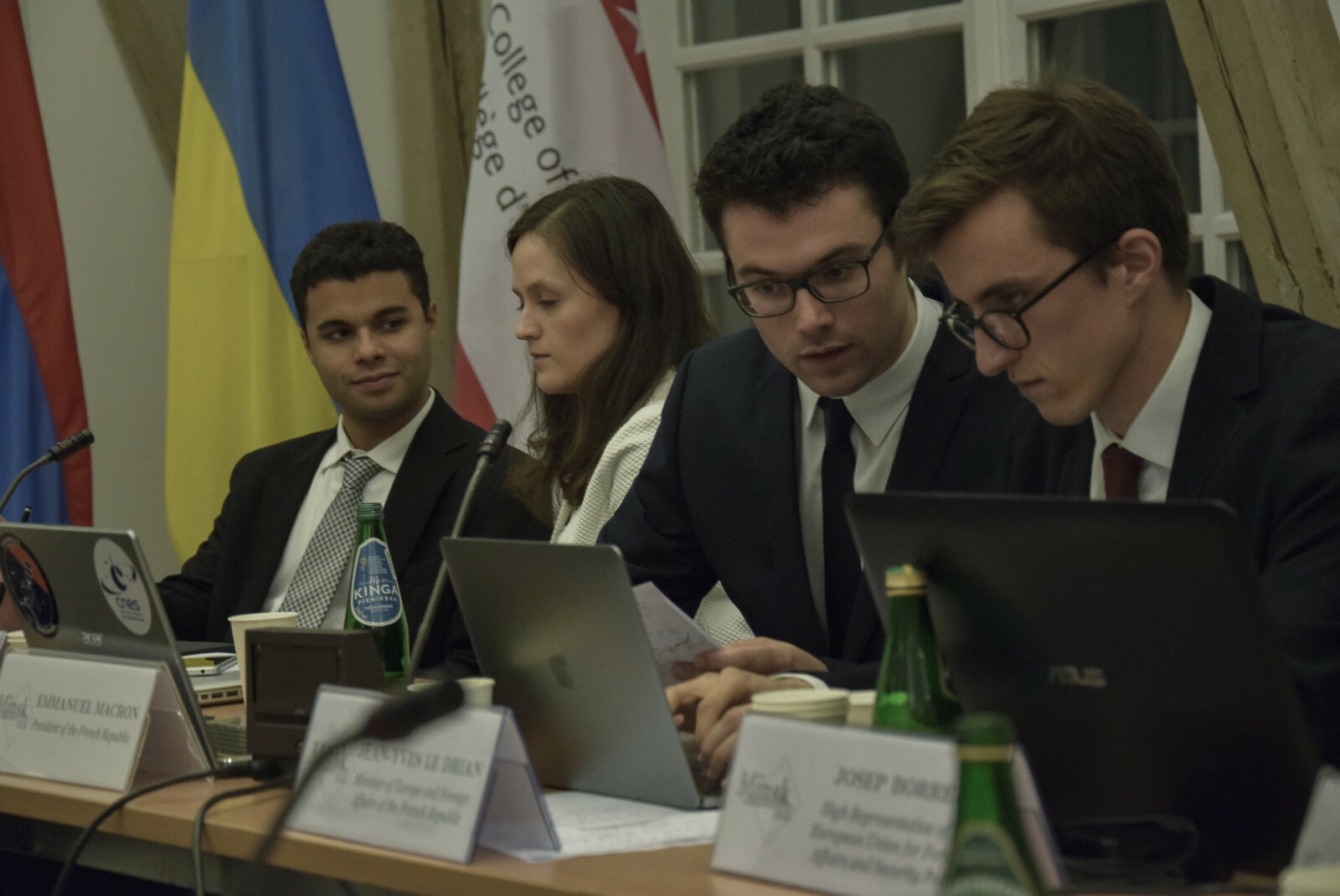 Calendrier Meeting Macron 2019.Simulation Of The Minsk Iii Agreements College Of Europe